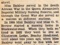 Report of funeral 1940