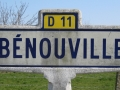 The village of Bénouville