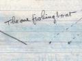 Edie's sketch - 30 May 1916.