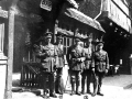 British Officers in front of La Residence